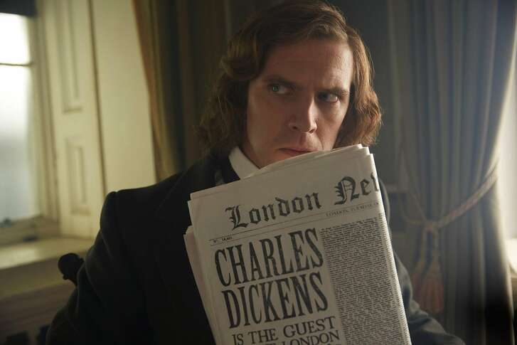 "Dan Stevens in ""The Man Who Invented Christmas."""