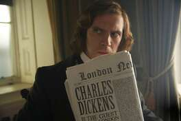 """Dan Stevens in """"The Man Who Invented Christmas."""""""
