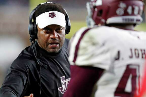Texas A&M coach Kevin Sumlin will lead his 7-4 team into Baton Rouge with a chance to beat LSU for the first time since the Aggies joined the SEC in 2012.