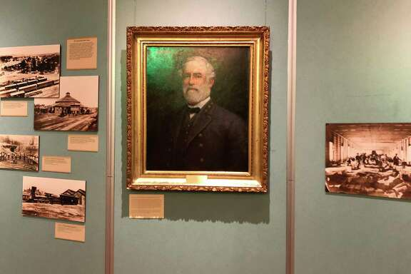 The Robert E. Lee portrait was painted in the late 1800s.