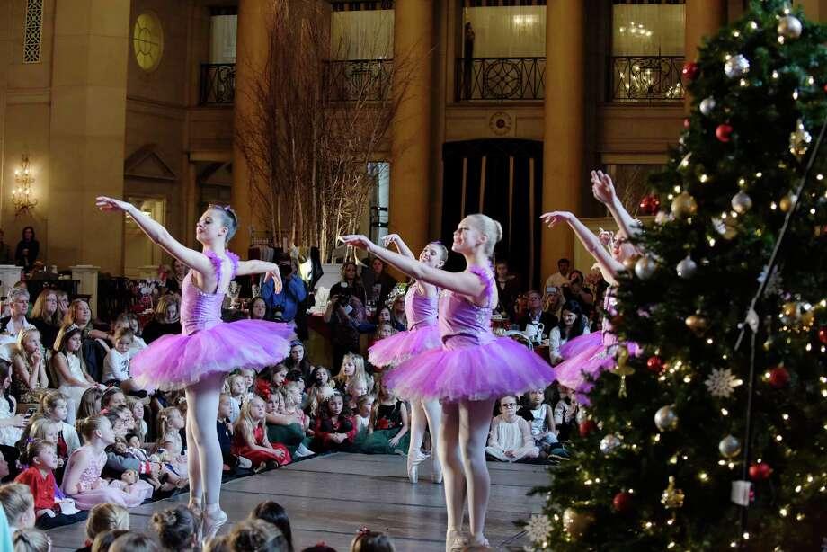 Members of the Northeast Ballet Company perform during the 2017 Nutcracker Tea at SPAC on Sunday, Nov. 19, 2017, in Saratoga Springs, N.Y.  (Paul Buckowski / Times Union) Photo: PAUL BUCKOWSKI / 20042163A