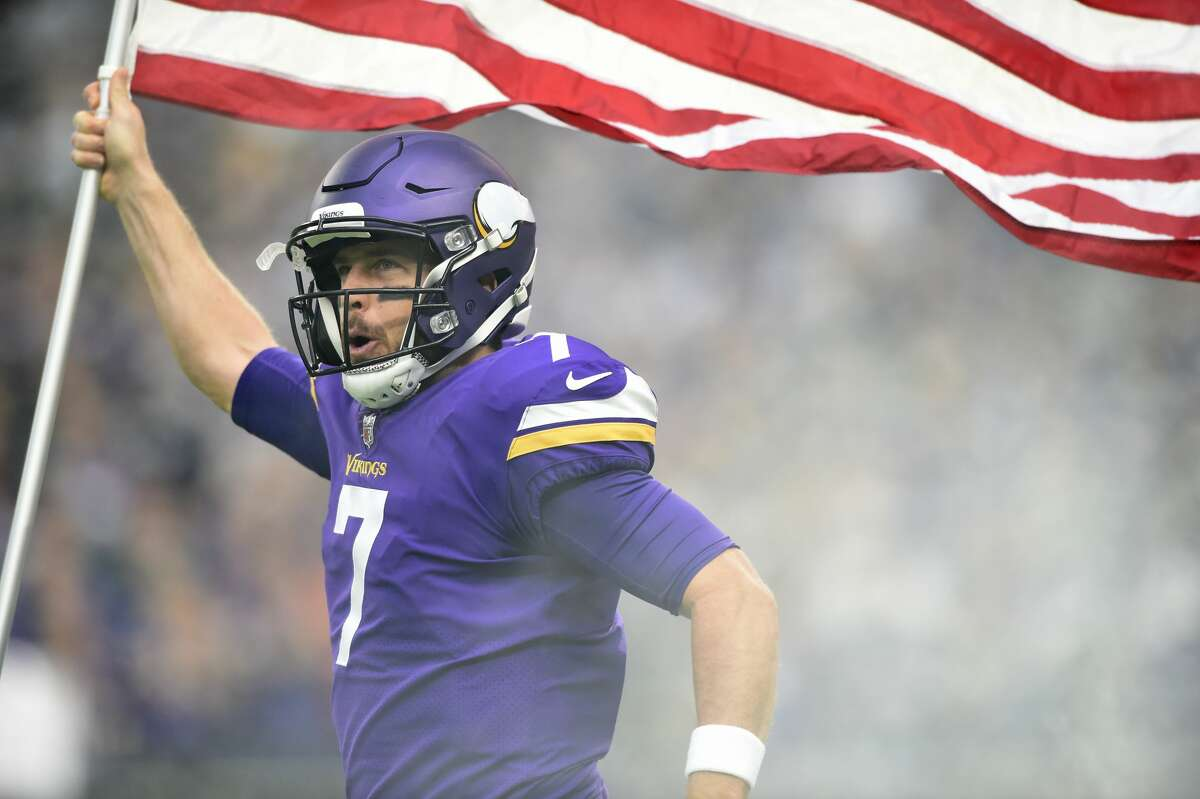 From now on, put some respeck on Case Keenum's name when you say it. The Vikings QB threw for 280 yards with a TD in a 24-7 win over the Rams. It's the sixth consecutive win for Minnesota.