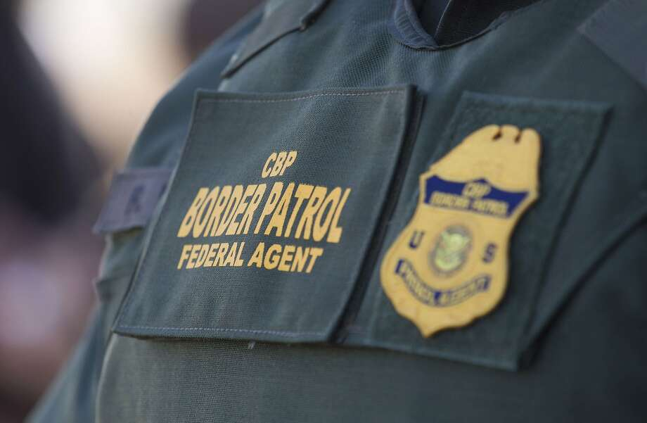 CBP Border Patrol during a news conference announcing the completion of the border wall prototypes on Thursday, Oct. 26, 2017. (John Gibbins/San Diego Union-Tribune/TNS) Photo: John Gibbins, TNS