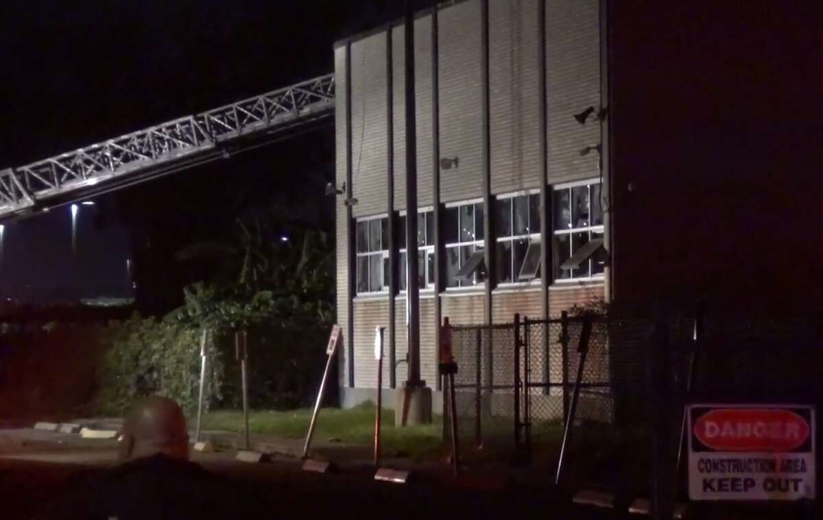 A fire broke out at Furr High School, on Mercury Drive, around midnight on Nov. 19, 2017. The cause and extent of the fire's damage are still unclear.