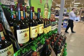 Irish Whiskey for sale in March 2017 at LQR MKT in in Norwalk, Conn., with the store subsequently renamed Wine and Beyond.