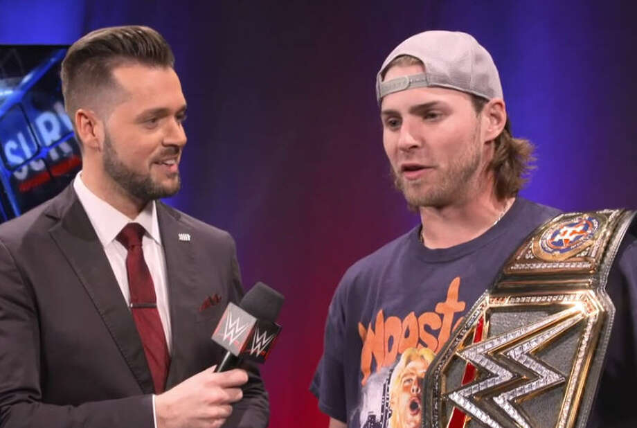 PHOTOS: WWE Survivor Series invades HoustonHouston Astros star Josh Reddick, easily the biggest World Wrestling Entertainment fan on the World Series roster, attended Sunday night's Survivor Series event at the Toyota Center. He brought not one, but two, special WWE belts with him to his ringside seats which afforded him a look at Charlotte Flair defeating Alexa Bliss and Triple H turning on his own tag team teammate Kurt Angle during a confusing main event.See more images from the biggest night of wrestling in Houston in 2017... Photo: Wwe.com