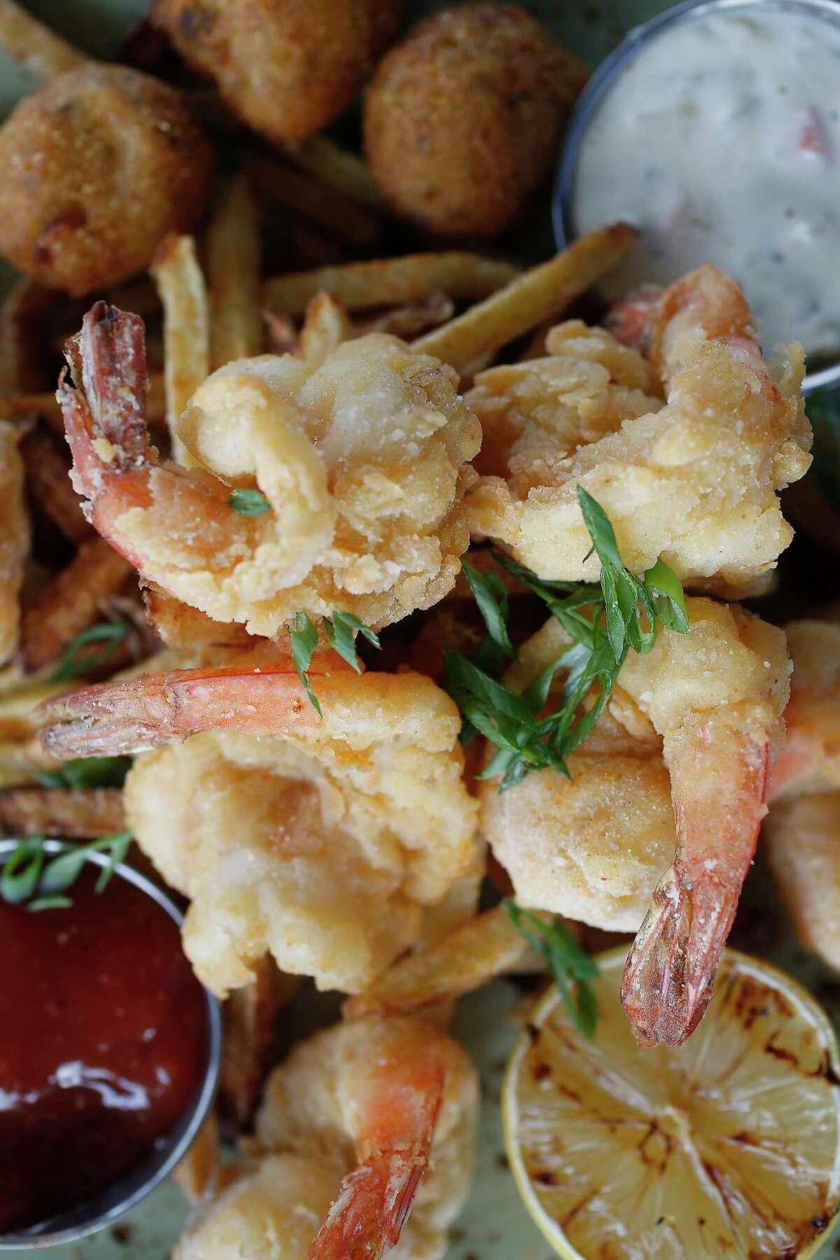 Classic Fried Shrimp at the new Union Kitchen restaurant opening Nov. 20 at 6011 Washington at the Westcott circle.