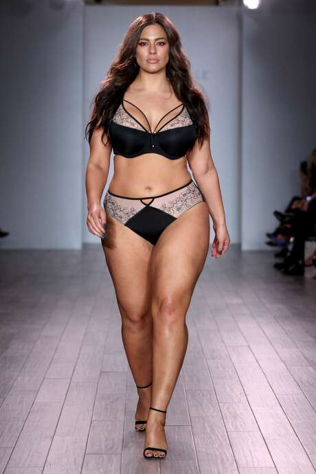 NEW YORK, NY - SEPTEMBER 14: Model Ashley Graham walks the runway at Addition Elle Presents Holiday 2016 RTW + Ashley Graham Lingerie Collection at Kia STYLE360 NYFW on September 14, 2016 in New York City. (Photo by Thomas Concordia/WireImage Style360) Photo: Thomas Concordia/WireImage Style360