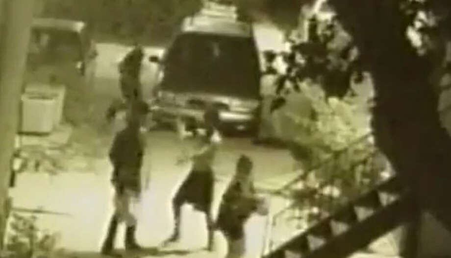 FYI: Crime reported in HoustonSurveillance video recently shared by the Houston Police Department's Robbery Division shows a couple being robbed of their belongings as they walked to their apartment complex.See what neighborhoods in Houston have reported this most crime so far in 2017... Photo: Houston Police Department's Robbery Division