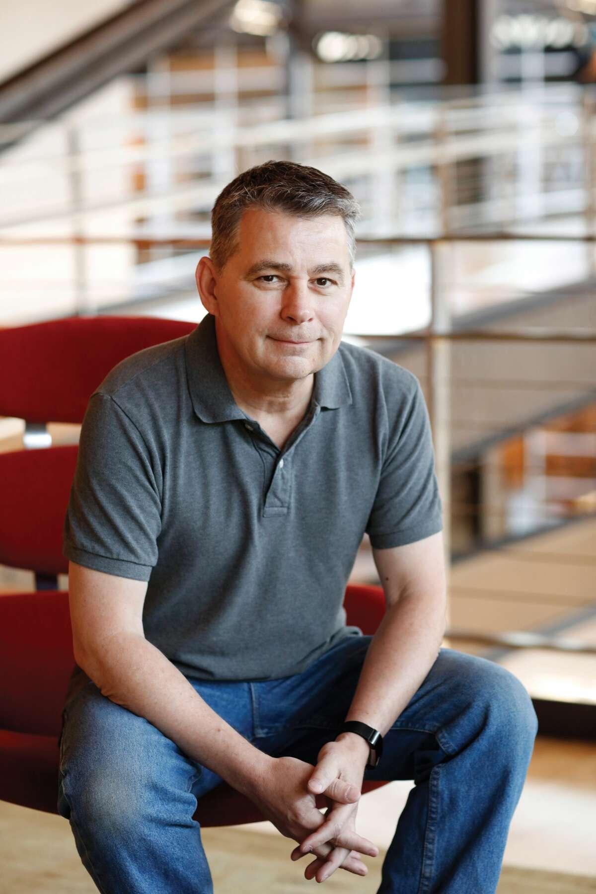 Former Edwardsville resident Chris Bernardi, who now works for Pixar.