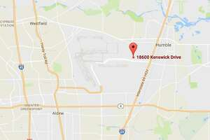 A hit-and-run crash killed a motorcylist Friday in the 18600 block of Kenswick Drive.