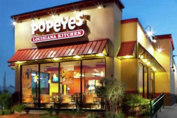 Popeyes Louisiana Kitchen opened in Danbury.