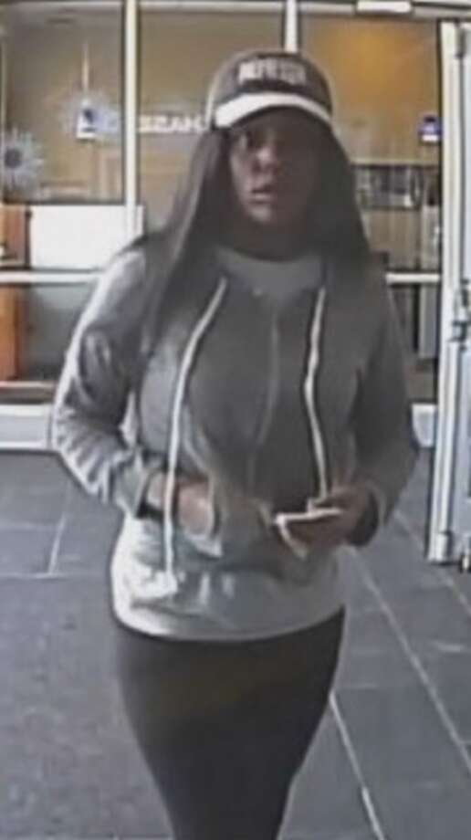 The FBI and Crime Stoppers are searching for a woman who the Chase Bank at 10243 Kempwood Drive in Houston on Friday, Nov. 17. Photo: FBI