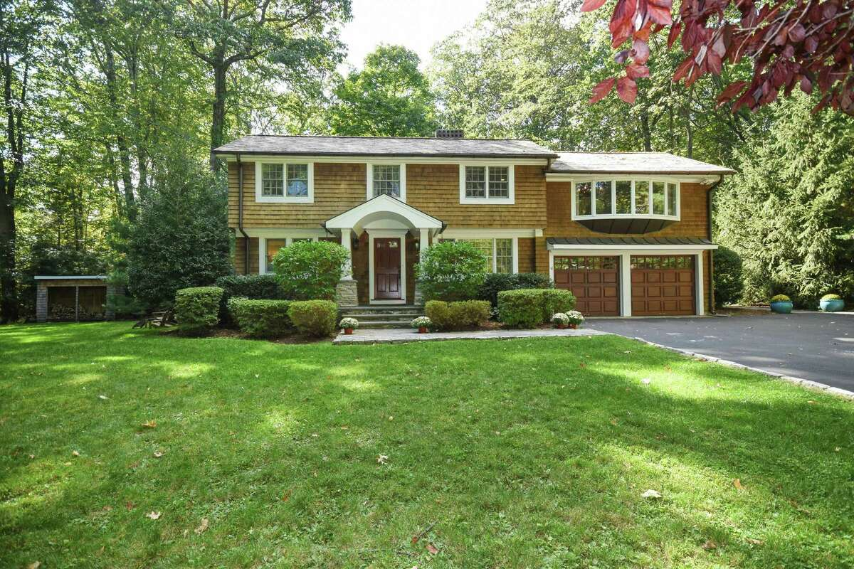 The split level bungalow at 17 Woodchuck Lane was totally renovated in the past 10 years.