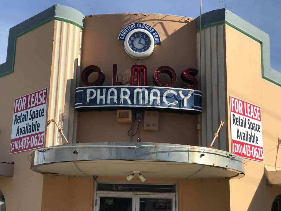 Olmos Pharmacy has officially closed. Photo: Kelsey Bradshaw