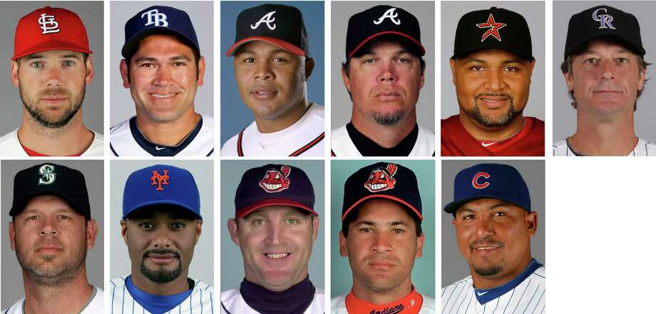 new concept 9d215 7a1cf Chipper Jones highlights newcomers on 2018 Hall of Fame ...