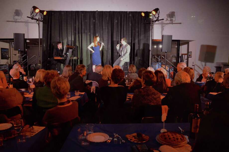 Around 75 people got to see a unique performance at Summer Theatre of New Canaan's Great American Songbook Stars Concert at KARL Chevrolet, Saturday, Nov. 18, 2017, in New Canaan, Conn. Photo: Jarret Liotta / For Hearst Connecticut Media / New Canaan News Freelance