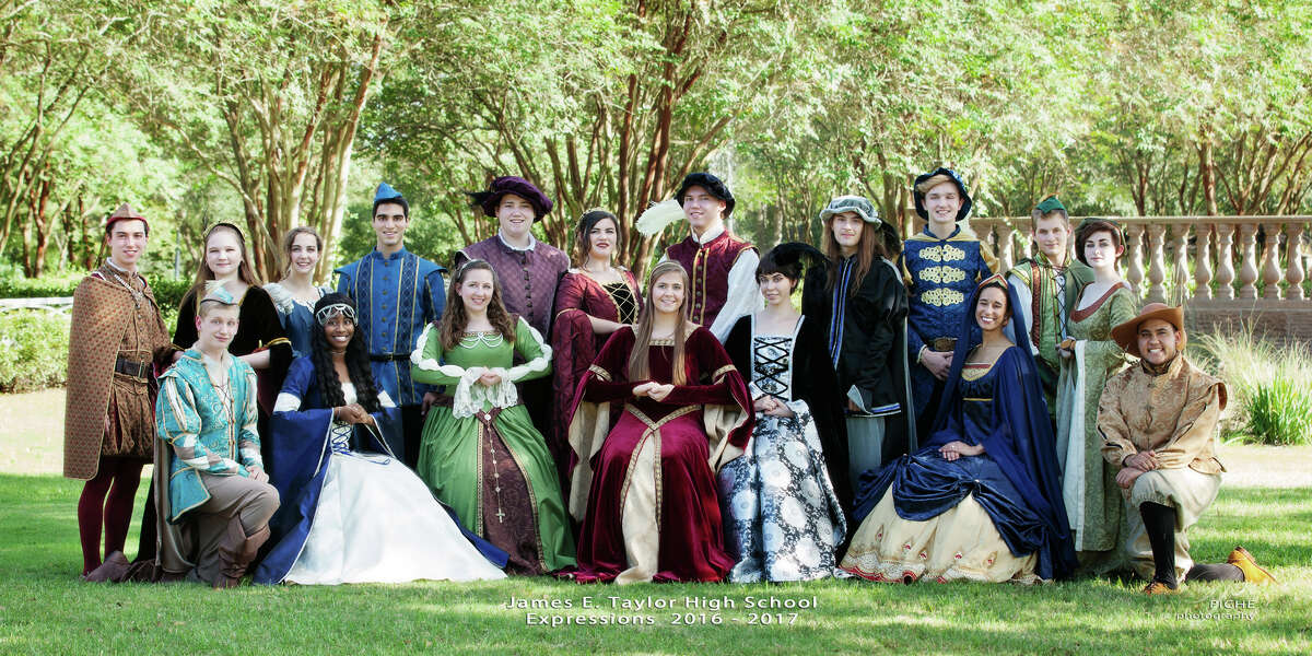 Taylor High School Choir Presents its 34th Annual Madrigal Dinner at 7 p.m. Dec. 1-2 and at noon Dec. 2 in the Taylor High School Main Commons, 20700 Kingsland Blvd., Katy. The program ofholiday entertainment includes a concert performance by every THS choir. A four-course catered dinner, served by choir students acting as wenches and beggars, is interwoven with a Renaissance period skit, choir and hand bell performances, and audience participation The school cafeteria is transformed into a castle dining hall, complete with drawbridge, fireplace, and castle walls.Tickets are $30 each and are available through Nov. 26 at www.taylorchoir.org/madrigal. Five percent of all ticket sales will be donated to the Katy ISD Education Foundation Harvey Relief Fundraiser.