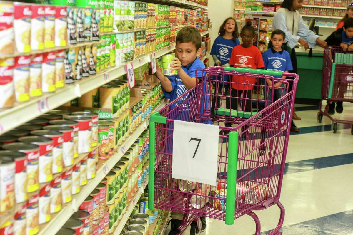 The Boys and Girls Club of Greater Houston partnered with 99-Cents Only Store to collect food to donate to the Houston Food Bank and the Kids' Meals Houston.