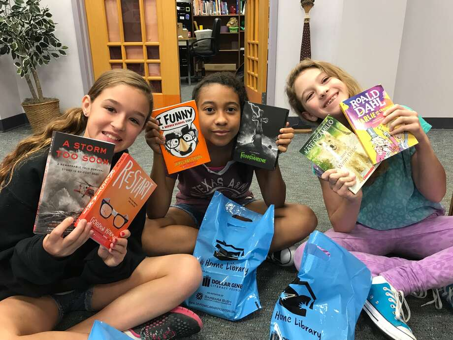 Nottingham Elementary was one of a number of elementary schools chosen based on their need but the Barbara BushHouston Literacy Foundation to give each one of their students 6 free books of their choosing. Photo: Courtesy Photo