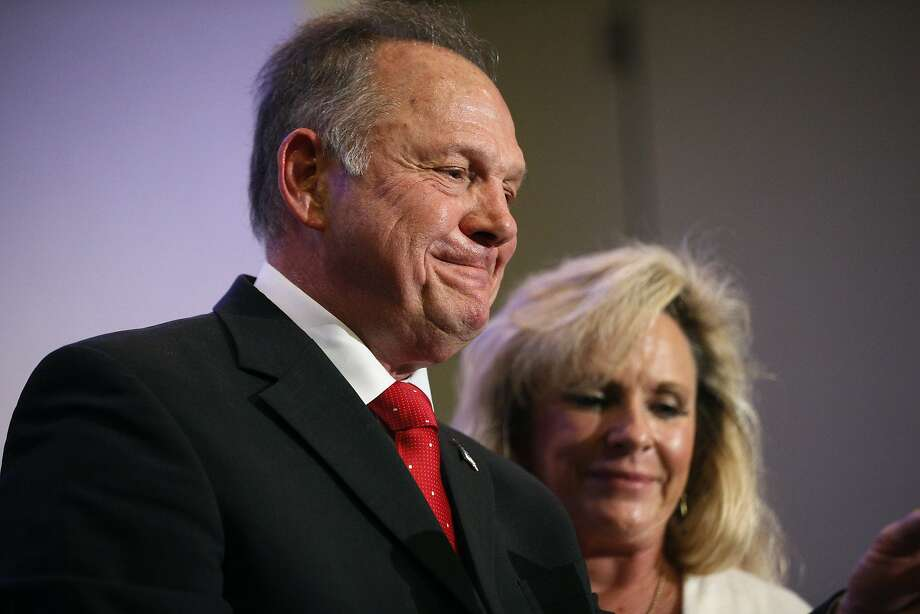 GOP Senate candidate Roy Moore has denied allegations of engaging in sexual misconduct. Photo: Brynn Anderson, Associated Press