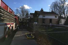 At least two people were killed in a fire Monday morning on Main Street in Corinth, Saratoga County Sheriff Michael Zurlo said.