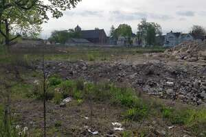 Part of the Marina Village public housing complex in Bridgeport's South End has been demolished, while other buildings have been vacated. A $1.5 million grant announced Monday will help fund the redevelopment of the 15.9-acre Marina Village into a new, state-of-the-art affordable housing community.
