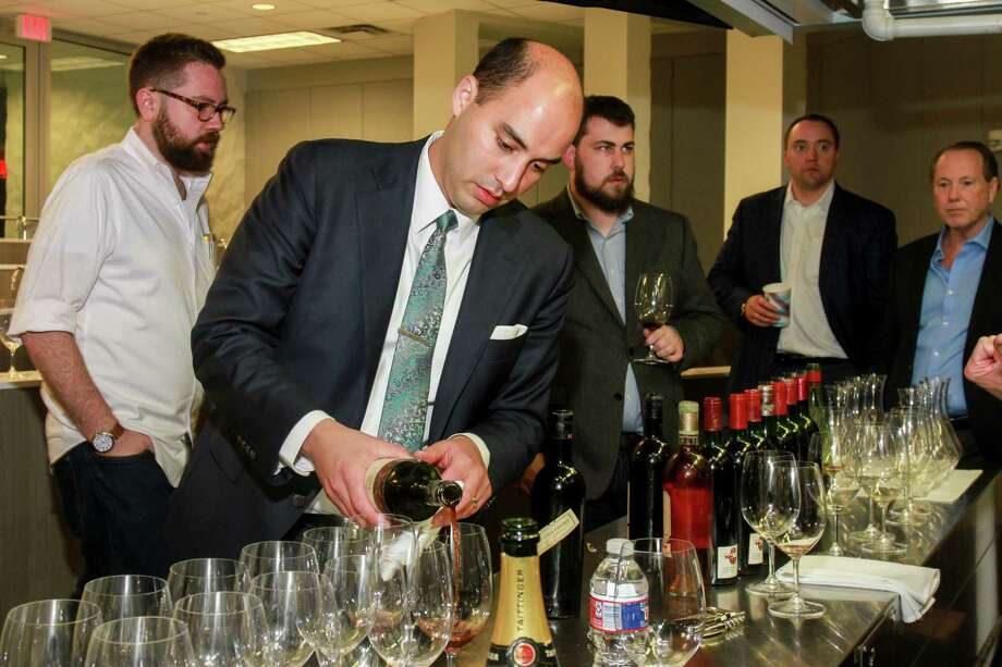 Steven McDonald of Pappas Steakhouse is now a Master Sommelier. Photo: Gary Fountain, For The Chronicle / Copyright 2017 Gary Fountain