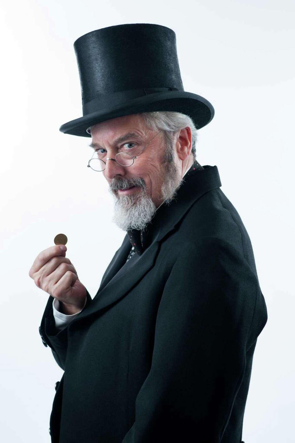 Michael Preston stars as Ebenezer Scrooge in