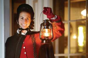Lantern Light Tours at Mystic Seaport will begin Nov. 24, and run several evenings through Dec. 23. The re-created fishing village will be suspended in time, always Christmas Eve 1876.