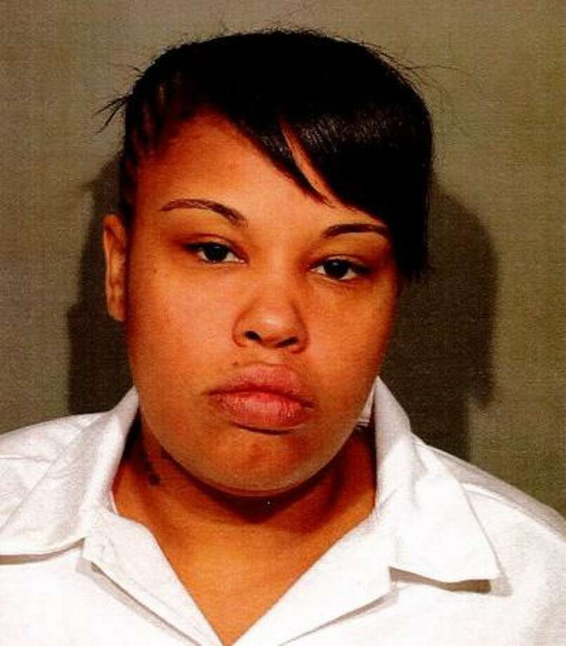 Diana Andino was taken into custody by New Canaan police from a correctional facility in Bedford, N.Y. She was brought back to New Canaan, Conn. on Nov. 17, 2017 and processed on charges related to a 2014 larceny. Photo: Contributed Photo / Contributed Photo / New Canaan News contributed