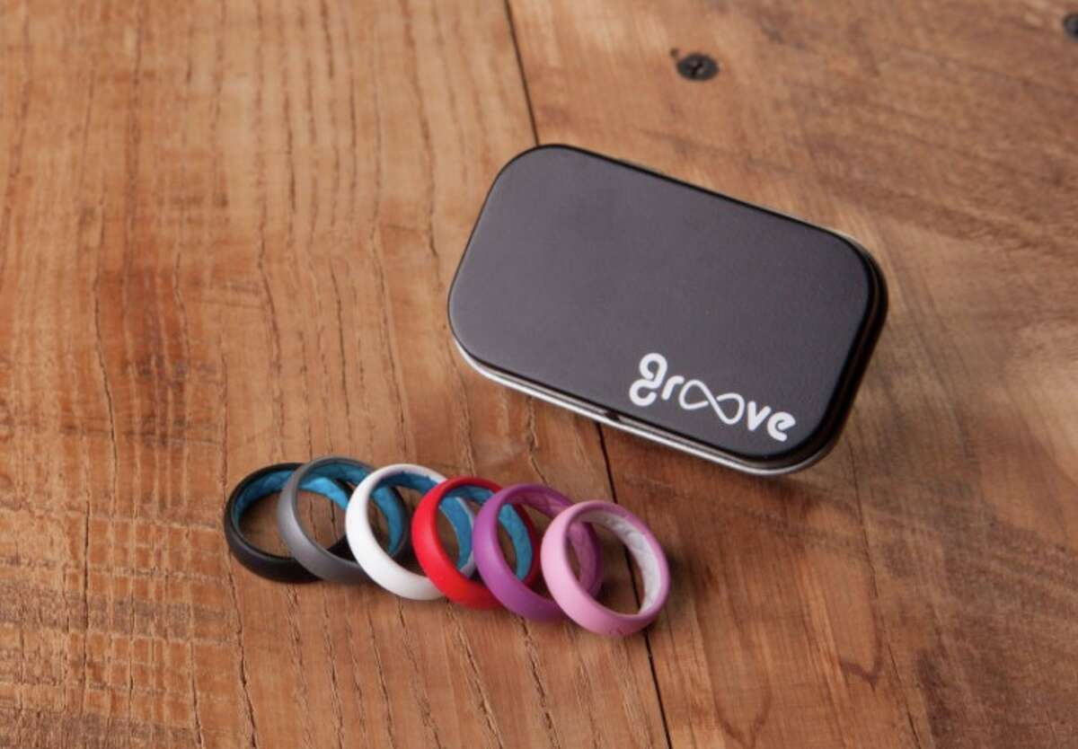 Groove silicone rings were developed for athletes and people who work with their hands. They are malleable, billed as breathable and at $30, cheaper than platinum.