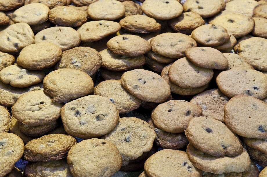 Mrs. Fields shops are giving away free chocolate chip cookies on Dec. 4, 2017. Photo: John Greim/LightRocket Via Getty Images