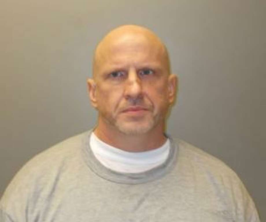 Thomas Golterman, 46, of Stamford, Conn. appeared in Stamford Superior Court on Nov. 20, 2017 on burglary, larceny and criminal mischief charges related to a string of burglaries of Frate's Liquors in Darien, Conn. between December 2016 and February 2017. Photo: Contributed Photo / Contributed Photo / Darien News contributed