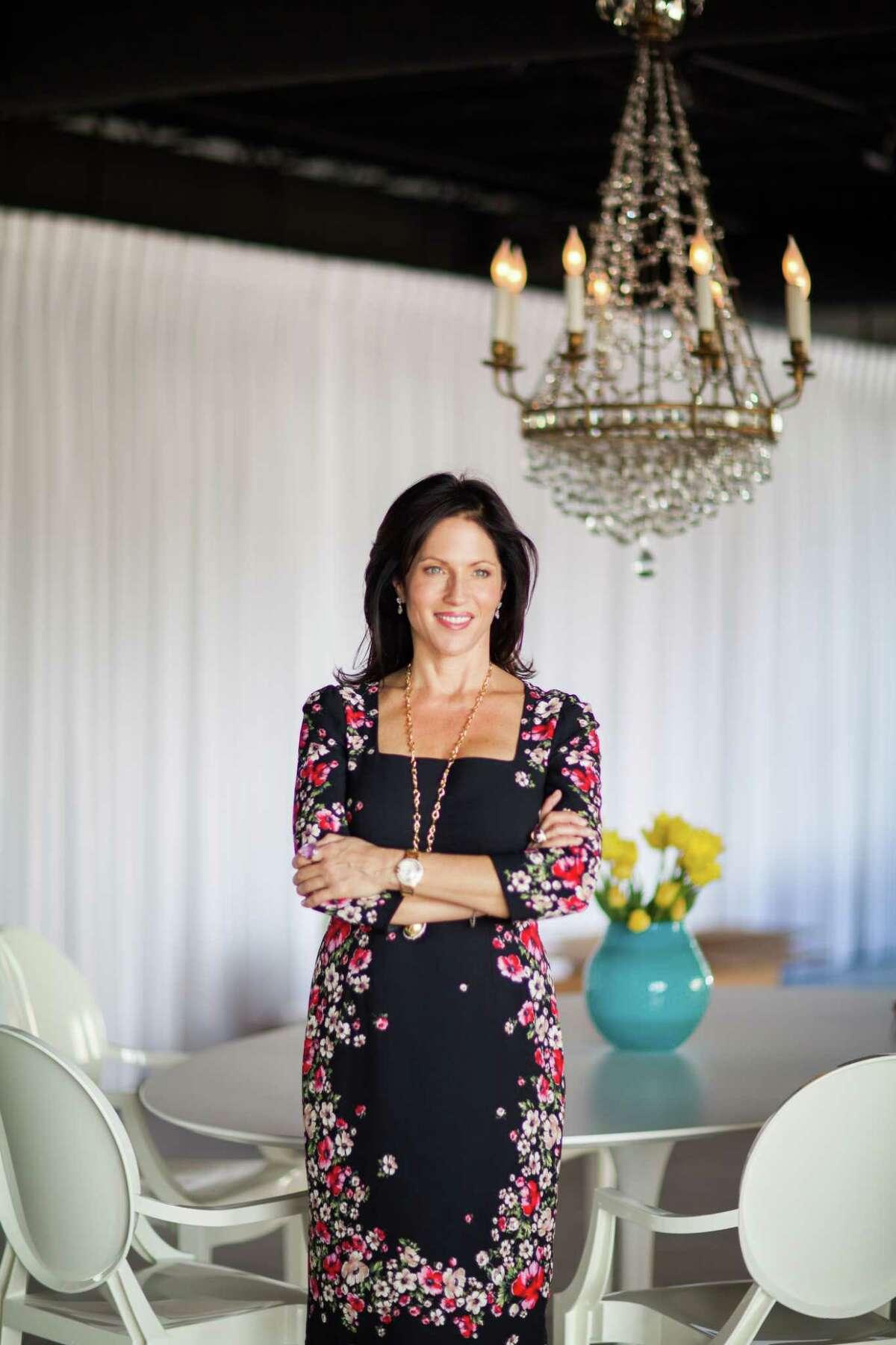 Karen Pulaski is the owner of Tribute Goods, a purveyor of luxurious and artful Italian linens.