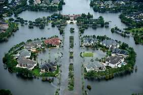 The White House has requested $44 billion in aid for hurri- cane-hit Texas, Florida, Puerto Rico and the Virgin Islands.