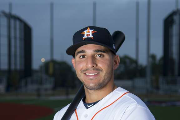 WEST PALM BEACH, FL - FEBRUARY 19: Houston Astros Non-Roster Invitee Outfielder Ramon Laureano (78) poses for a portrait during Houston Astros Photo Day at The Ballpark of the Palm Beaches on February 19, 2017 in West Palm Beach, Florida. (Photo by Doug Murray/Icon Sportswire via Getty Images)