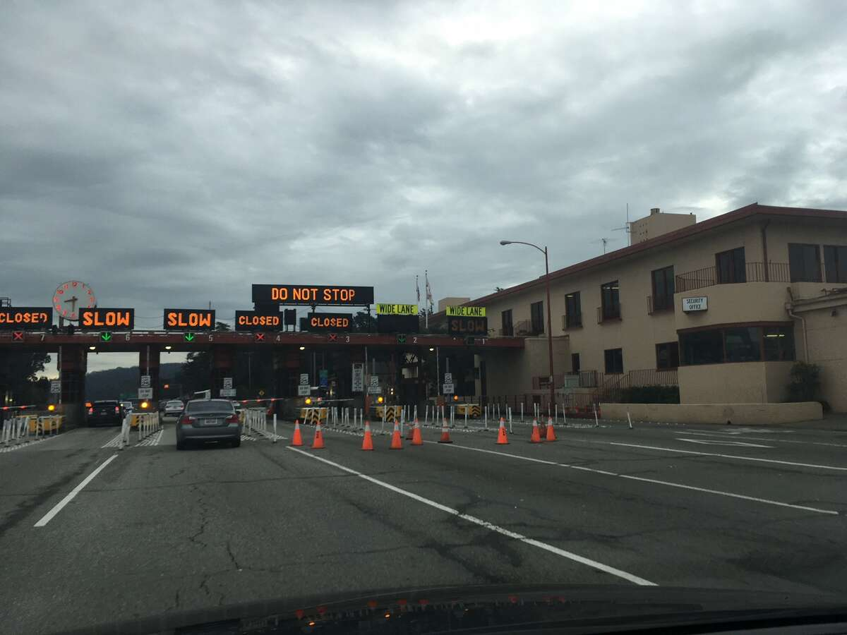 Regular commuters across the Golden Gate Bridge have likely noticed that there are routinely three toll plaza lanes closed.