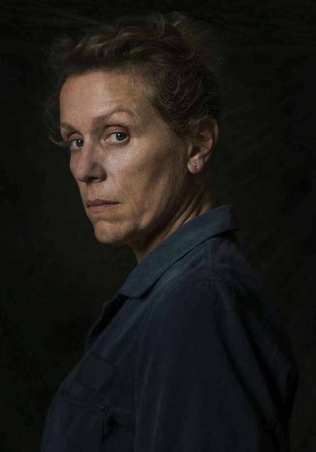 Frances McDormand plays Mildred Hayes. Photo: Merrick Morton, Associated Press