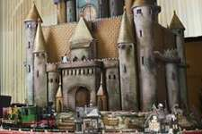 The medieval sugar castle at the Westin St. Francis in 2009.  The medieval sugar castle at the Westin St. Francis in 2009.
