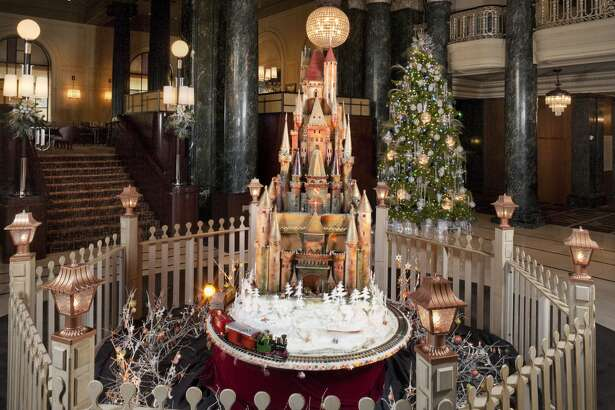 The medieval sugar castle at the Westin St. Francis in 2010.