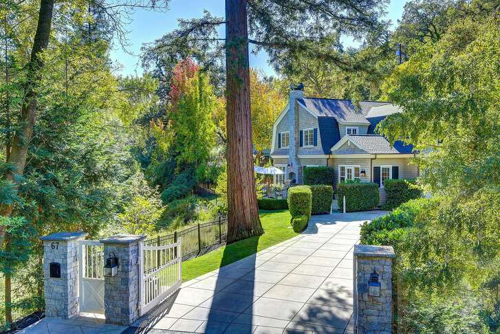 67 Hermit Lane in Kentfield is a five-bedroom Cape Cod style residence available for $3.395 million.