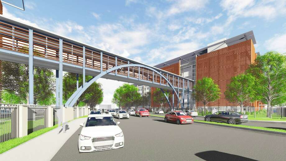 H e b downtown parking garage bridge get price tag 19 million h e b plans to build a six story 750 space parking garage and connect the san antonio solutioingenieria Image collections
