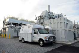 The $65 million, 14.9 megawatt fuel cell plant off of Railroad Avenue in Bridgeport can supply about 15,000 homes with energy.