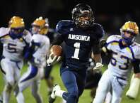 Ansonia running back Markell Dobbs has rushed for 1,293 yards on 73 carries and 25 touchdowns heading into Thursday's game at Naugatuck.