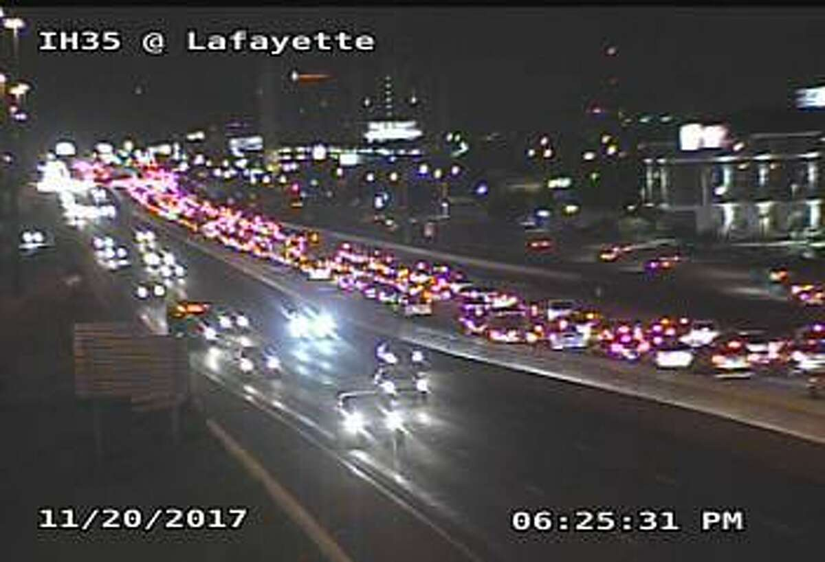 20. Lafayette St from Eagle Pass Ave to IH-35/US 83 Annual congestion cost: $707,068Annual hours of delay: 35,013
