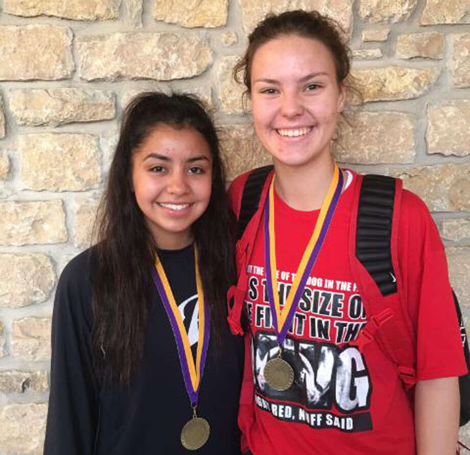 Plainview's Kristan Rincon, left, and Jesse Long were voted to the all-tournament team at the Marble Falls Classic over the weekend. Photo: Courtesy Photo