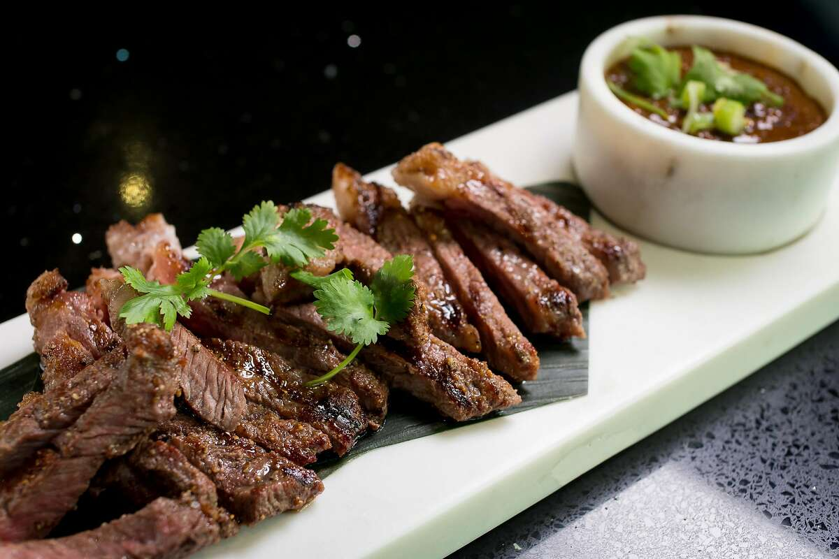 Grilled Top Sirloin at Essan Classic in San Francisco, Calif., is seen on November 18th, 2017.