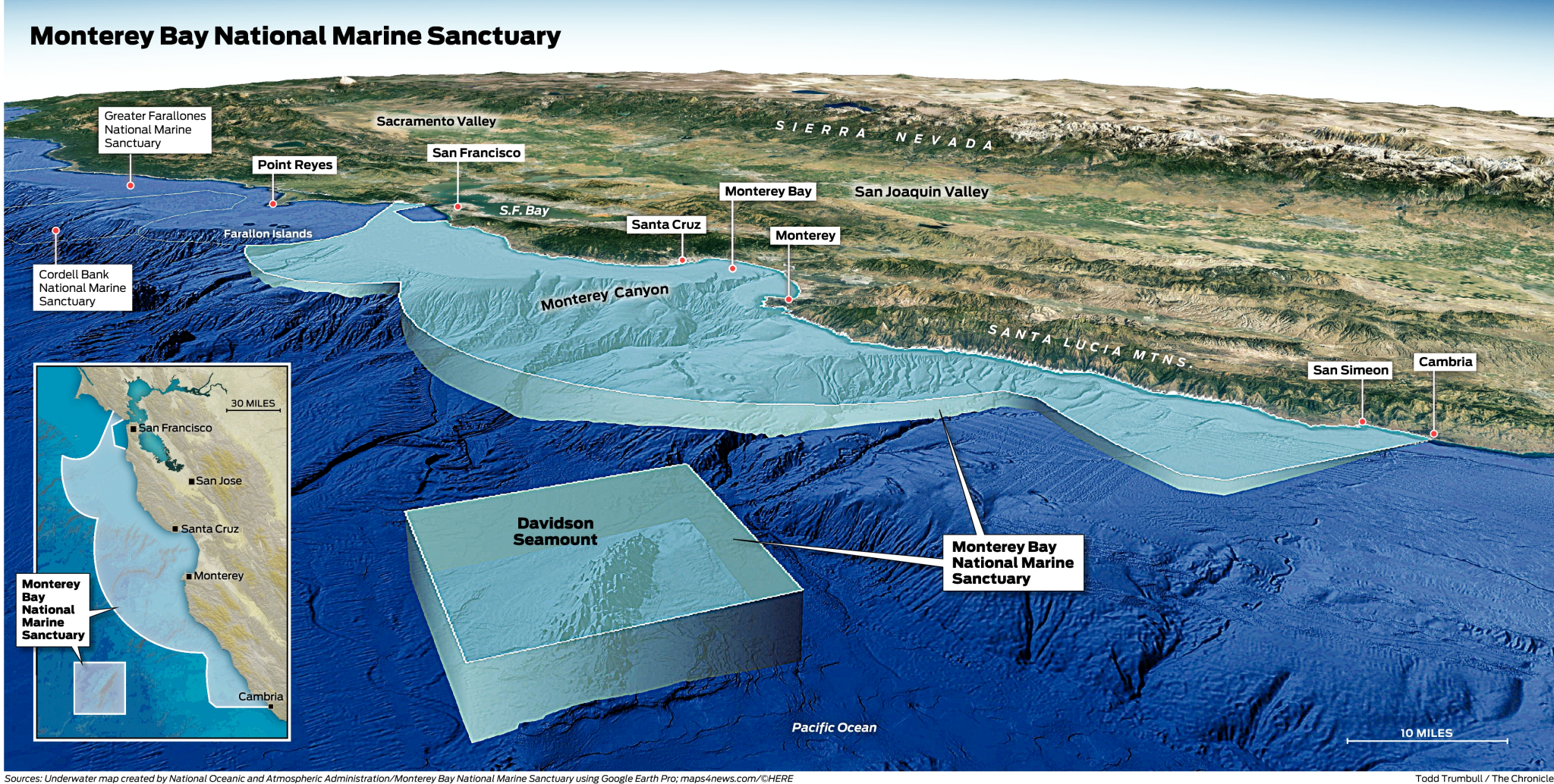 Monterey Bay marine sanctuary turns 25 years old