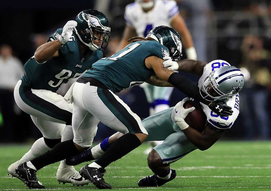 Dez Bryant and the Cowboys lost 37-9 on Sunday night at home to the Eagles in their worst loss ever at AT&T Stadium. Dallas falls to 5-5 this season and is on the verge of missing the playoffs for the second time in four seasons. Photo: Ronald Martinez /Getty Images / 2017 Getty Images
